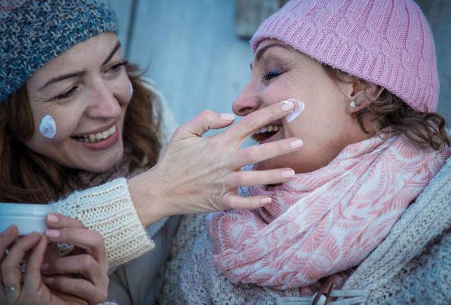 El frío influye en nuestra piel